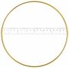 "Metal Rings 8""/20.3cm Brass"